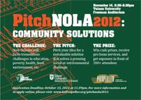PitchNOLA 2012